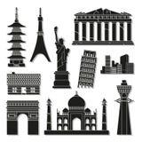 Los iconos de la señal fijaron grande para cualquier uso Vector eps10 Imagen de archivo