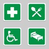 Los iconos del hospital fijaron grande para cualquier uso Vector eps10 Fotos de archivo libres de regalías