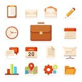 Los iconos del negocio fijaron - vector - vector libre illustration