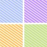 Los iconos del papel pintado de Abstact fijaron grande para cualquier uso Vector eps10 Imagen de archivo libre de regalías