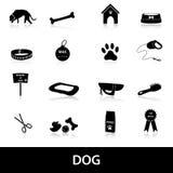 Los iconos del perro fijaron eps10 Imágenes de archivo libres de regalías