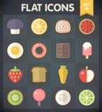 Los iconos del plano universal para el web y el móvil fijaron 19 Foto de archivo libre de regalías