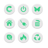 Los iconos del sitio web fijaron grande para cualquier uso Vector eps10 Fotografía de archivo