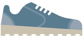 Los iconos del web - icono de los zapatos de las zapatillas de deporte Fotos de archivo
