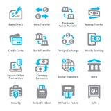 Los iconos personales y del negocio de las finanzas fijaron 3 - serie de Sympa ilustración del vector