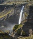 Los ifoss del ¡de HÃ caen, río del ¡de FossÃ, Islandia 3 Imágenes de archivo libres de regalías