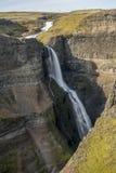 Los ifoss del ¡de HÃ caen, río del ¡de FossÃ, Islandia 4 Imágenes de archivo libres de regalías