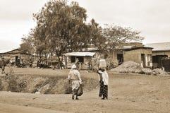 Los indígenas hicieron asuntos Foto de archivo