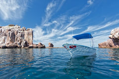 Los islotes seal island in mexico baja california Royalty Free Stock Photos