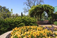 Los jardines Caterpillar de Hershey hacen un túnel el PA Fotos de archivo libres de regalías