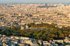 Los jardines de Luxemburgo en París Foto de archivo libre de regalías