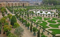 Los jardines de Versalles 1 Fotos de archivo libres de regalías