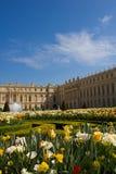 Los jardines del palacio de Versalles fotos de archivo