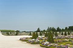 Los jardines del palacio de Versalles Imagen de archivo