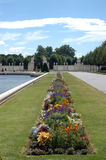 Los jardines del palacio imperial en Viena - Austria imagenes de archivo