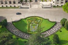 Los jardines del Vaticano Foto de archivo libre de regalías