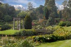 Los jardines en Cholmoneley Fotografía de archivo libre de regalías