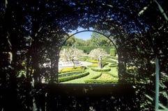 Los jardines isabelinos, isla de Roanoke, NC Imágenes de archivo libres de regalías
