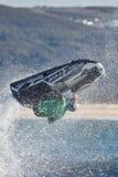 Los jinetes profesionales del esquí del jet compiten en el viaje del mundo de IFWA Fotos de archivo