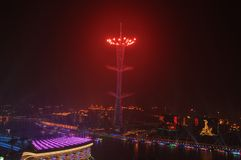 Los Juegos Asiáticos Guangzhou 2010 China imagen de archivo libre de regalías