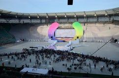 Los juegos de mundo 2017 en Wroclaw, Polonia Imagen de archivo