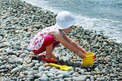 Los juegos de niños con un compartimiento Foto de archivo
