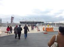 Los Juegos Olímpicos localizan en Strafford Fotografía de archivo