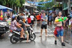 Año Nuevo tailandés - Songkran Imagen de archivo libre de regalías