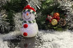 Los juguetes de la Navidad Fotos de archivo libres de regalías