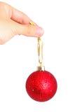 Los juguetes de la Navidad aislaron 2 Fotografía de archivo libre de regalías