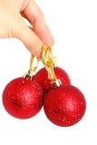 Los juguetes de la Navidad aislaron 7 Imagen de archivo libre de regalías