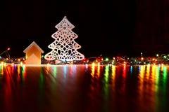Los juguetes y los ornamentos del Año Nuevo Fotografía de archivo