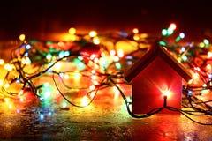Los juguetes y los ornamentos del Año Nuevo Fotos de archivo libres de regalías