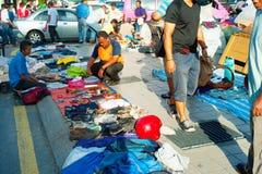 Los kilolitros huyen del mercado Fotografía de archivo