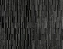 Los ladrillos negros slate el fondo de la textura, textura de la pared de piedra de la pizarra Imagen de archivo libre de regalías