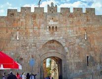Los leones bloquean en Jerusalén Foto de archivo