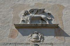 Los leones de San Marco, símbolo de Venecia Imágenes de archivo libres de regalías