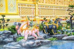 Los leones en el cuento de hadas de Asia 171105 0273 fotos de archivo