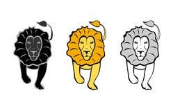 Los leones fijados