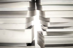 Los libros de lectura son la salida a la sabiduría Fotografía de archivo libre de regalías