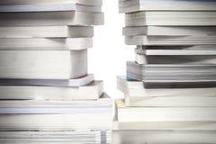 Los libros de lectura son la salida a la sabiduría Imágenes de archivo libres de regalías