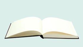 Los libros se abren en el fondo blanco Foto de archivo