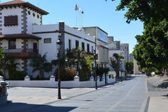 Los Llanos de Aridane - beautiful city on the island La Palma, Canary Islands, Spain Stock Photography