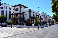 Los Llanos de Aridane - beautiful city on the island La Palma, Canary Islands, Spain Royalty Free Stock Photos