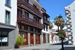 Los Llanos de Aridane - beautiful city on the island La Palma, Canary Islands, Spain Royalty Free Stock Images