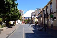Los Llanos de Aridane, city on Island La Palma, Canary Islands, Spain. Royalty Free Stock Photo