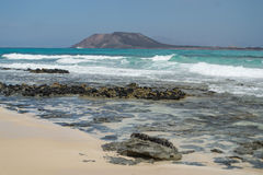 Los Lobos Island Royalty Free Stock Images