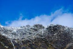Los lugares del paraíso en Nueva Zelanda/soporte cocinan a National Park Imágenes de archivo libres de regalías