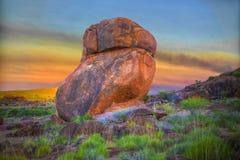 Los mármoles de los diablos (Karlu Karlu), Territorio del Norte, Australia Fotografía de archivo libre de regalías