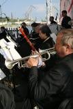 los músicos de la orquesta sinfónica fotografía de archivo libre de regalías